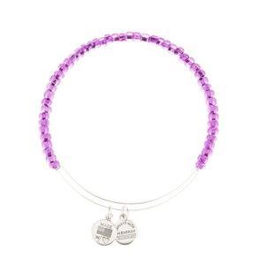 Purple Alex and Ani bracelet